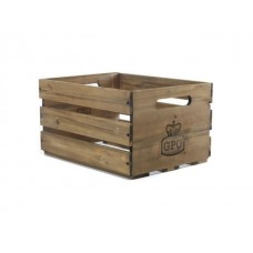 GPO Деревянный Ящик Для Виниловых Пластинок